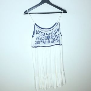 Anthropologie En Creme Crochet Dress